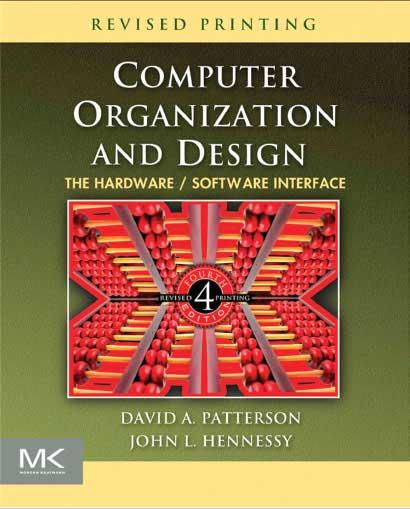 دانلود کتاب طراحی کامپیوتر کامپیوتر Patterson and hennessy