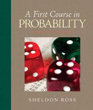 دانلود کتاب آمار و احتمال Sheldon Ross